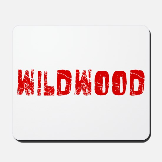 Wildwood Faded (Red) Mousepad