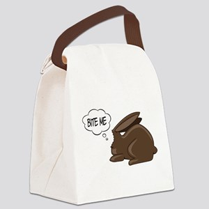 Bunny Bite Me Canvas Lunch Bag