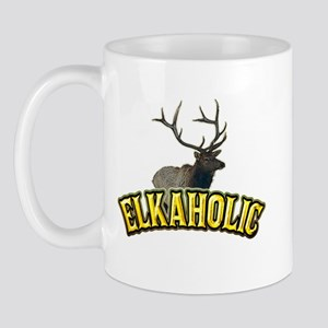 ELKAHOLIC elk hunter gifts Mug
