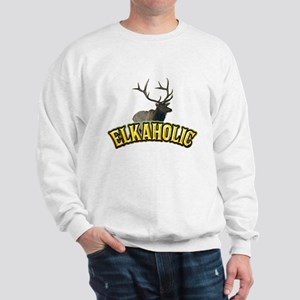 ELKAHOLIC elk hunter gifts Sweatshirt