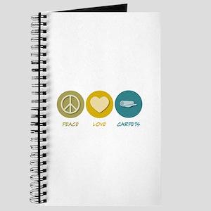 Peace Love Carpets Journal