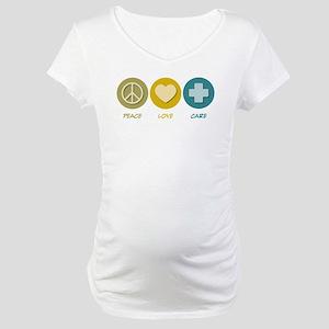 Peace Love Care Maternity T-Shirt