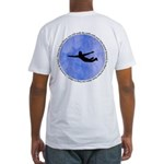 Da Vinci Quote Fitted T-Shirt