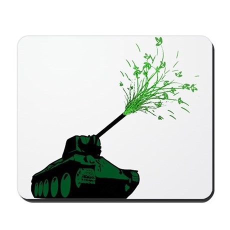 earth-friendly tank Mousepad