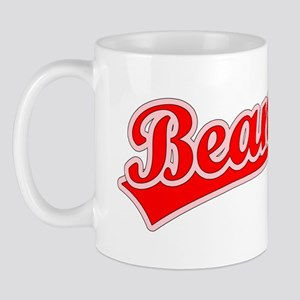 Retro Bean (Red) Mug