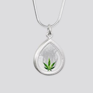 Smoked out weed leaf Necklaces