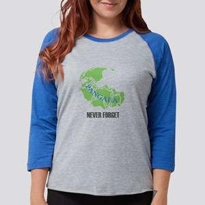 Never Forget Pangaea Long Sleeve T-Shirt