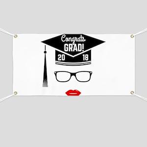 funny graduation congrats banners cafepress