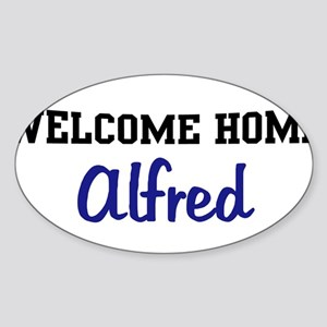 Welcome Home Alfred Oval Sticker