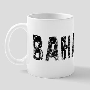 Bahamas Faded (Black) Mug