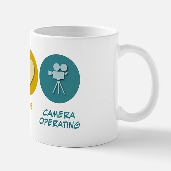 Peace Love Camera Operating Mug