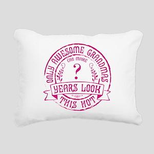 Custom Grandma Bday Rectangular Canvas Pillow