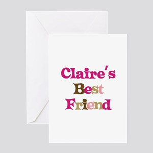 Claire 's Best Friend Greeting Card