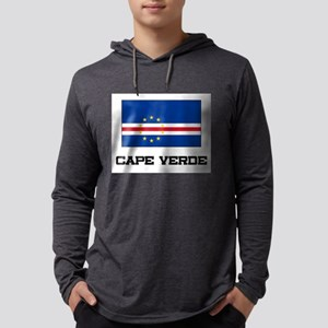 Cape Verde Flag Long Sleeve T-Shirt