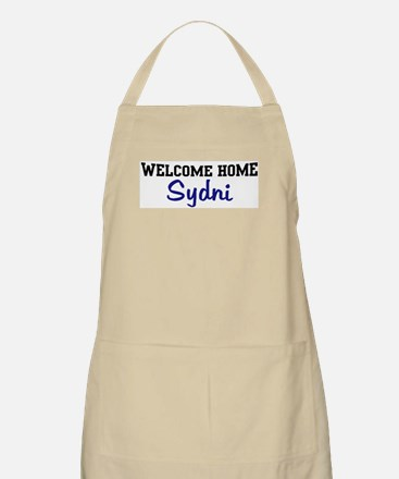 Welcome Home Sydni BBQ Apron