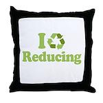 I Love Reducing Throw Pillow