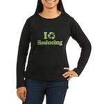 I Love Reducing Women's Long Sleeve Dark T-Shirt