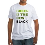 Green is the new black Fitted T-Shirt
