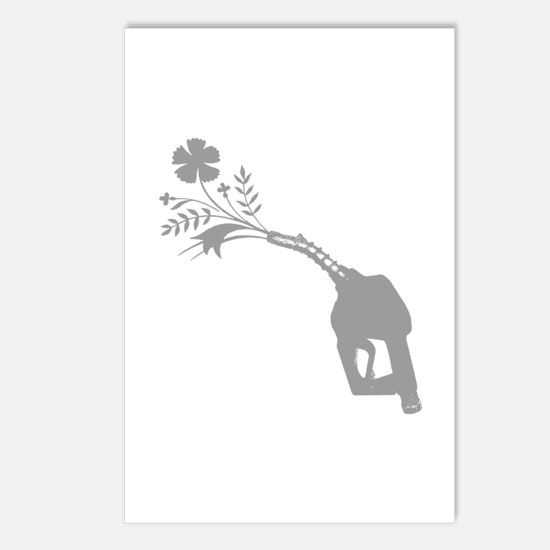 Biodiesel Bouquet Postcards (Package of 8)