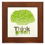 Think Green Framed Tile