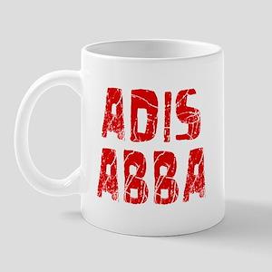 Adis Abba Faded (Red) Mug