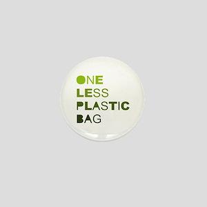 One less plastic bag Mini Button
