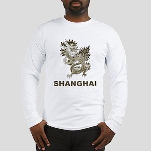 Vintage Shanghai Dragon Long Sleeve T-Shirt