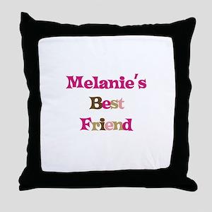 Melanie 's Best Friend Throw Pillow