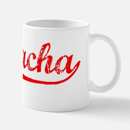 Vintage Si Racha (Red) Mug