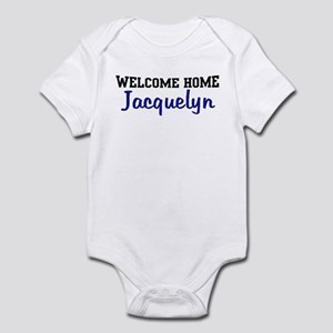 Welcome Home Jacquelyn Infant Bodysuit