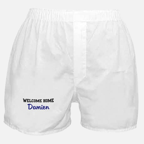 Welcome Home Damien Boxer Shorts