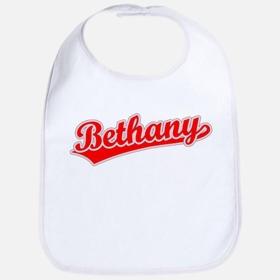 Retro Bethany (Red) Bib