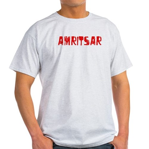 Amritsar Faded (Red) T-Shirt