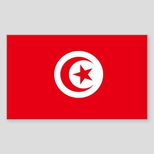 Tunisia Rectangle Sticker