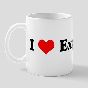 I Love Explosives Mug