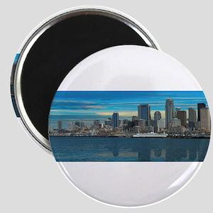 Seattle Washington Panorama Magnets