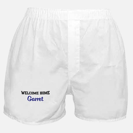 Welcome Home Garret Boxer Shorts