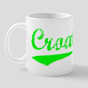 Vintage Croatia (Green) Mug
