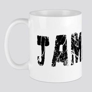 Jamaica Faded (Black) Mug