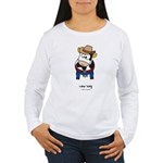 cow boy Women's Long Sleeve T-Shirt
