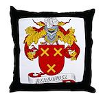 Hernandez Family Crest Throw Pillow