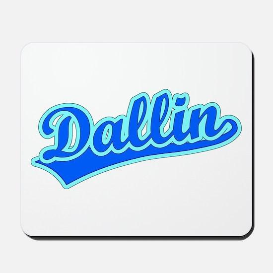 Retro Dallin (Blue) Mousepad