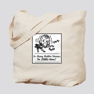 So Many Rubber Stamps, So Lit Tote Bag