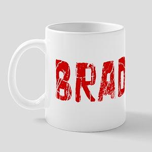Bradford Faded (Red) Mug