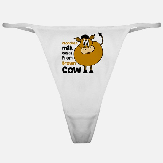 Cow Classic Thong