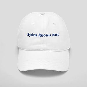 Sydni knows best Cap