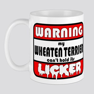 Wheaten Terrier LICKER Mug