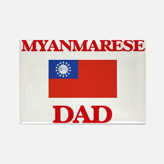 Myanmarese Dad Magnets