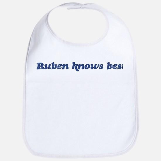 Ruben knows best Bib