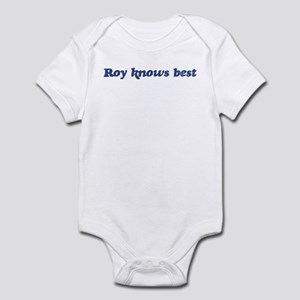 Roy knows best Infant Bodysuit